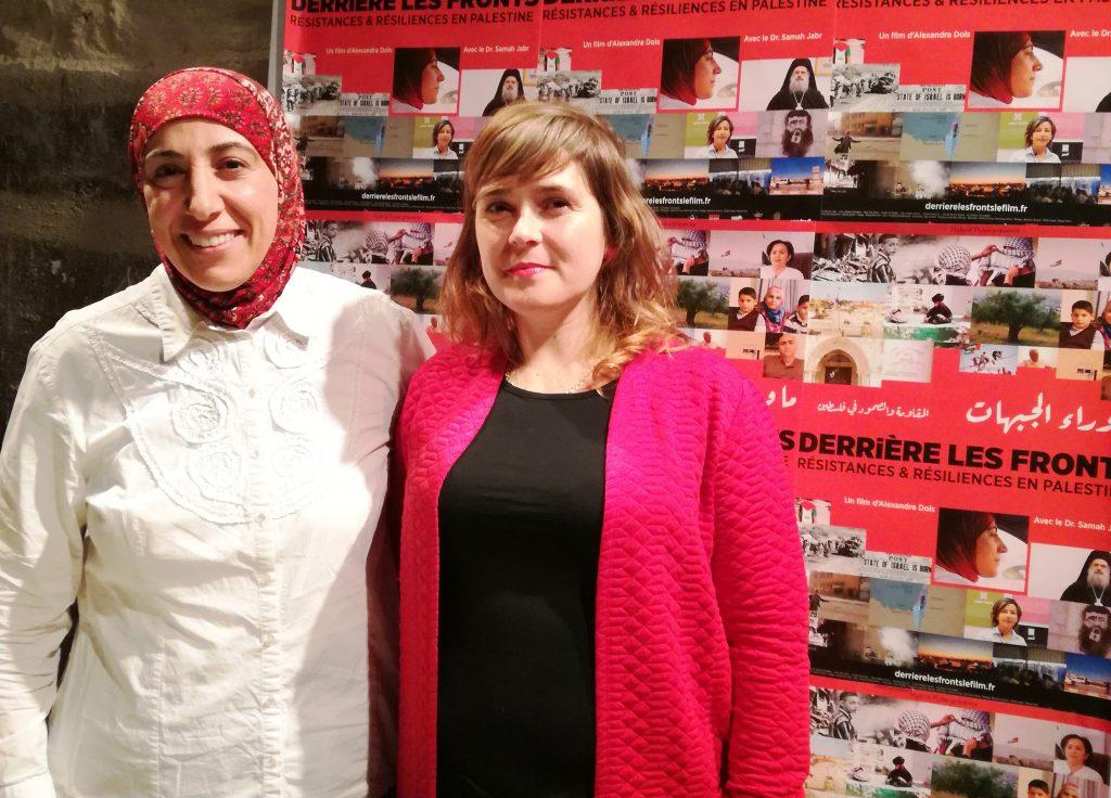 Samah Jaber et Alexandra Dols. Crédit : Houria Mabrouk.