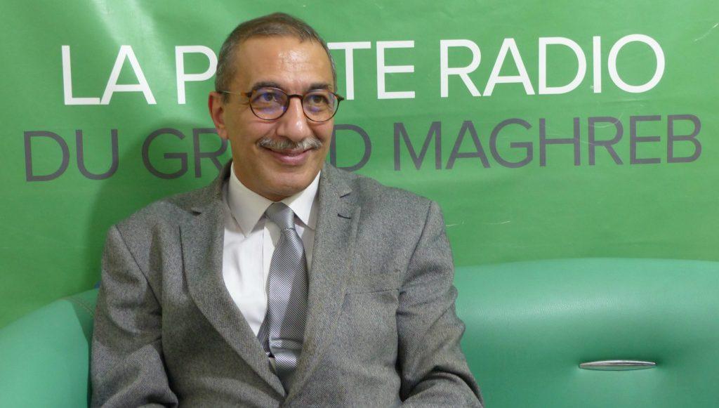 Ihsane El Kadi, directeur et fondateur de Radio M. Crédit : Moussa Wagué